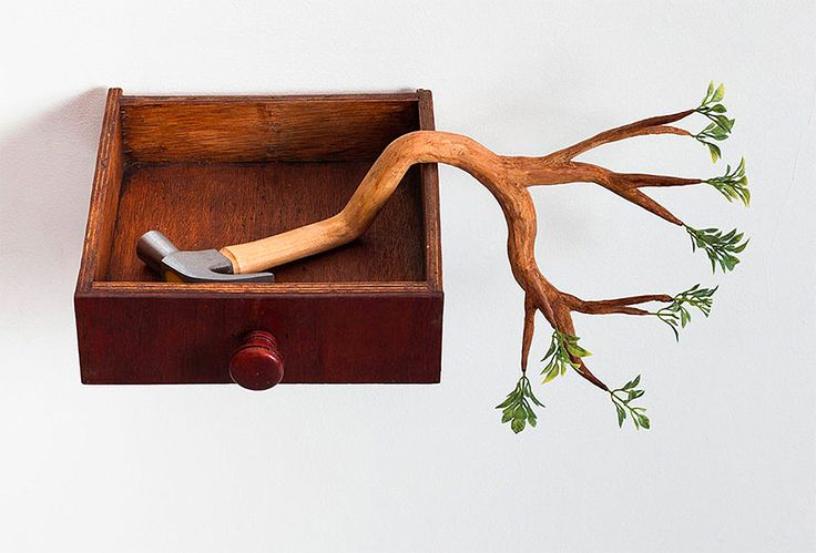 Humorous Wooden Sculptures by Camille Kachani   Inspiration Grid   Design Inspiration