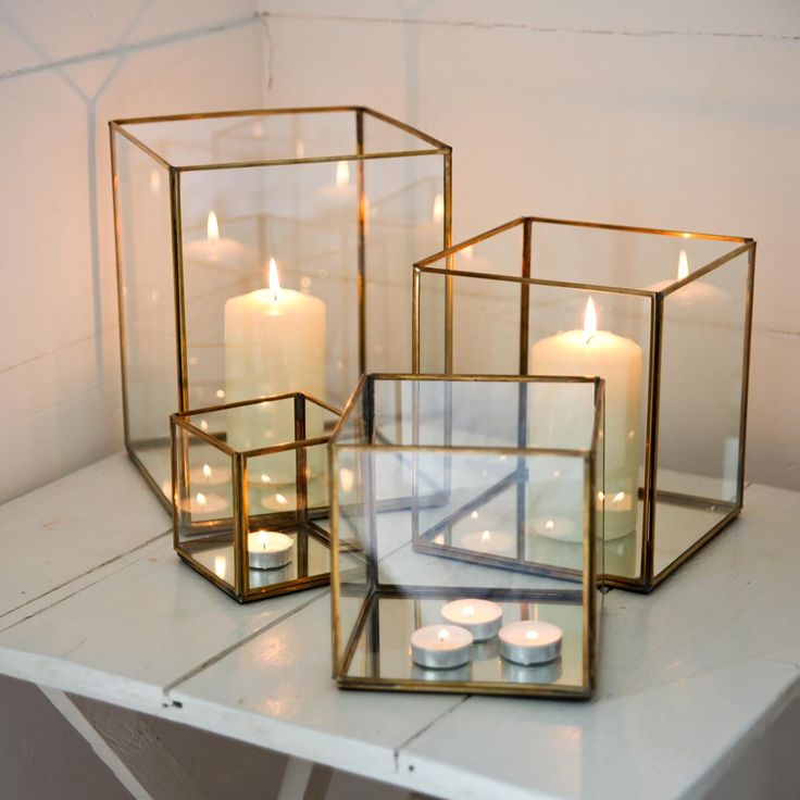 Absolutely love these! | Bimala Brass Lantern