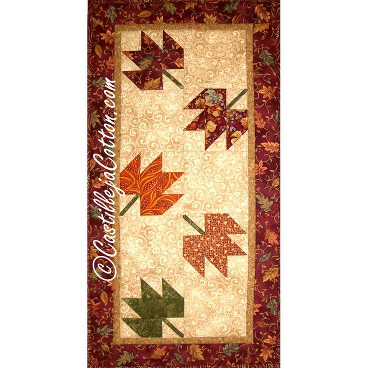 Autumn Quilt Epattern 2462 2 Leaves Quilt Pattern