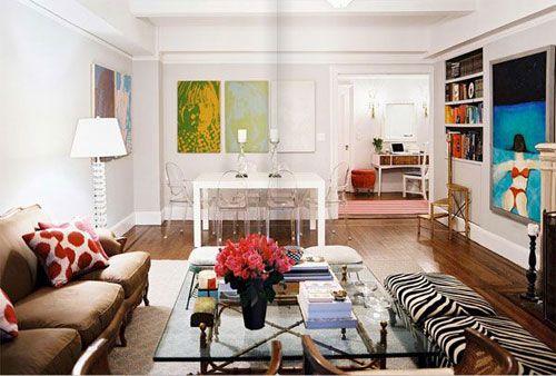 .Decor Ideas, Living Rooms, Living Room Design, Livingroom, Interiors Design, Zebras Prints, White Wall, Lonny Magazine, Apartments Living
