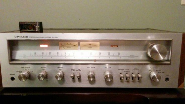 My Vintage Pioneer SX-650