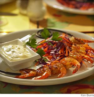 Grilled Shrimp Remoulade (3 Points ) | Weight Watchers Recipes