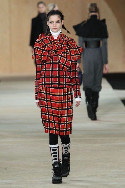 Check out this look from the Marc by Marc Jacobs Fall 2014 Runway. #marcjacobslive