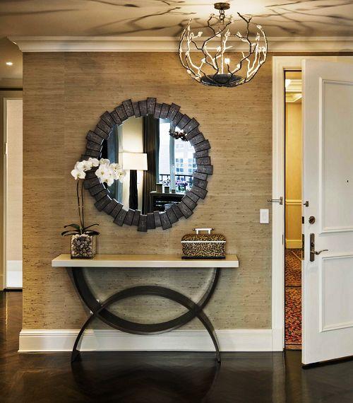 Безрамные зеркала с матовым напылением в виде различных орнаментов или без него
