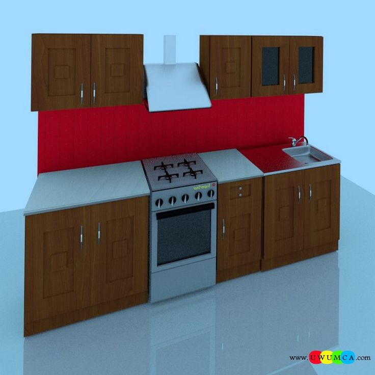 Kitchen:Corona Kitchen Ad Decor Cabinets Furniture Table And Chairs Remodel Kitchens 3d Model Free Download Countertops Layout Worktops Island Design Ideas 3ds Kitchenette Sketchup (1) You Won't Believe How Cool Corona Kitchen's 3D Ad Looks and Other Kitchen 3D Model