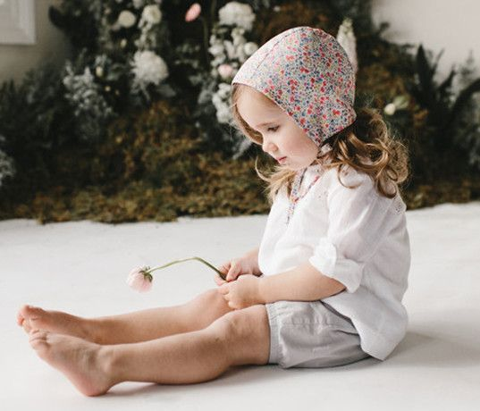 Briar Handmade organic floral bonnets make the perfect statement for spring | Inhabitots