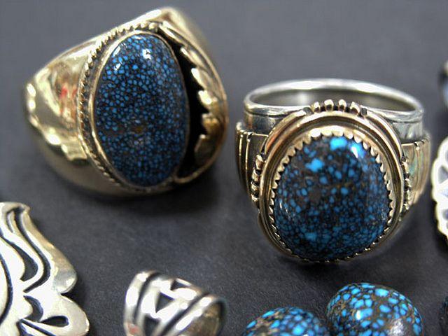 Lander Turquoise Ring