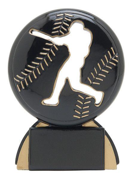 Baseball Trophy - Shadow Resin - Multiple Sizes