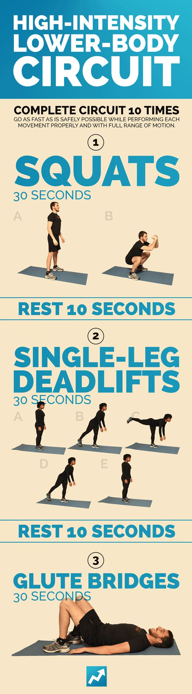 Lower-Body Workout: | Take BuzzFeed's Get Fit Challenge, Then Take Over The World