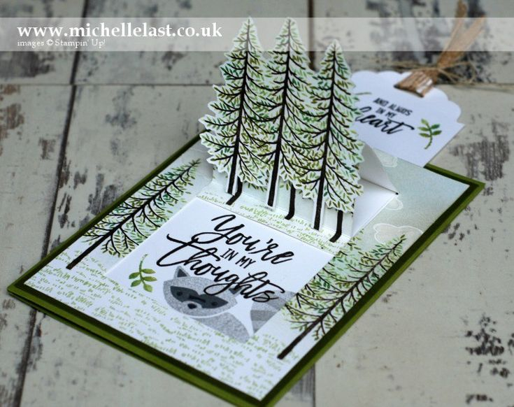 Pop Up Card made using Stampin' Up Products - with Michelle Last