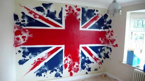 I want this painted onto my bedroom wall. Now. I literally think I was born in the wrong country. I need to marry a British man so my child can have a British accent.