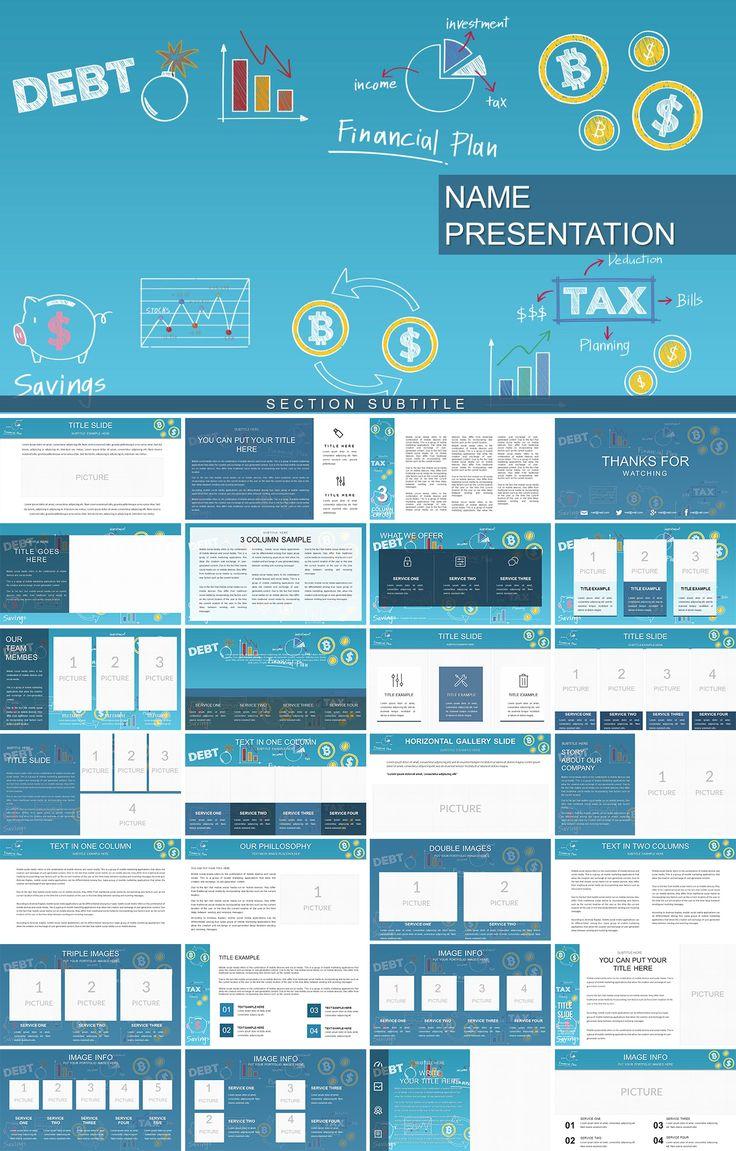 Debt Management PowerPoint template Powerpoint templates