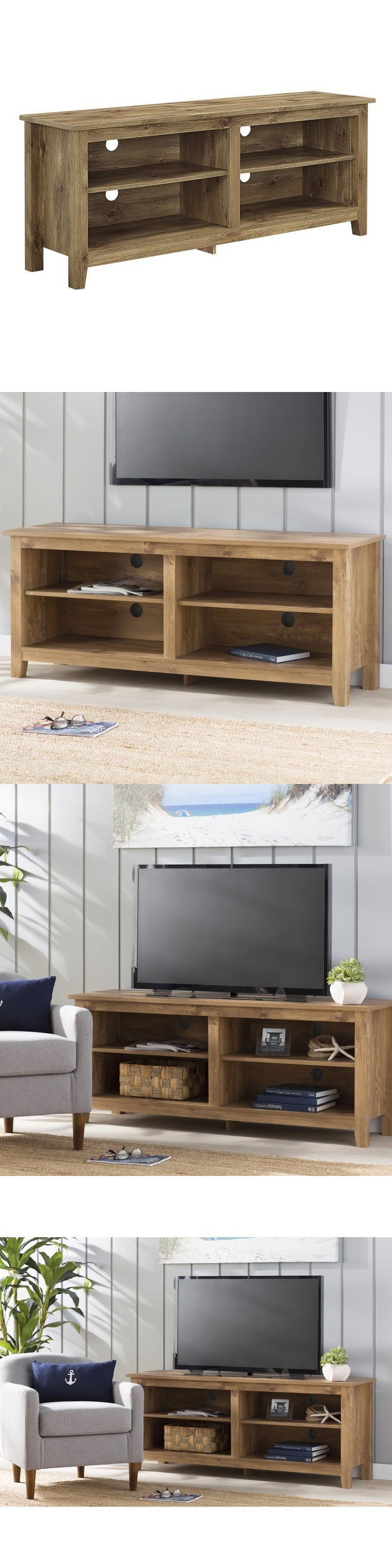 best  tv stand with storage ideas on pinterest  media storage  - entertainment units tv stands  walker edison  inch wood tv standwith storage space