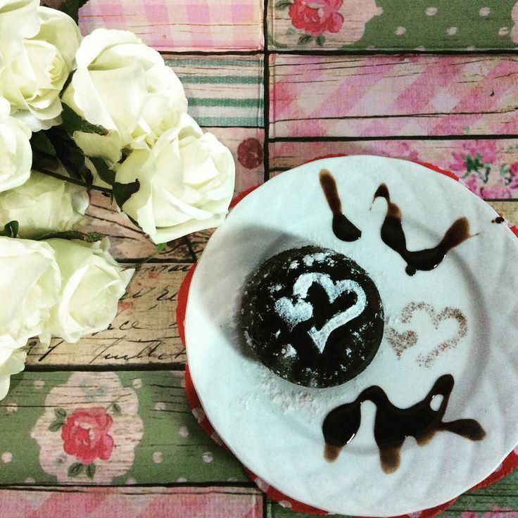 Chocholate Lava Cake.  From Gordon Ramsey recipe