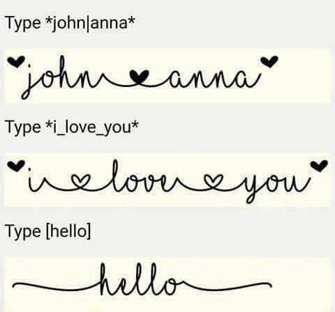 MF I love glitter font guide