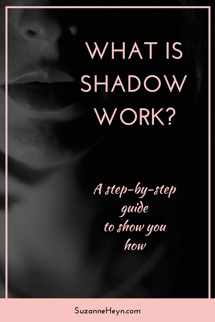 What is shadow work? (And how to do it.) Shadow work