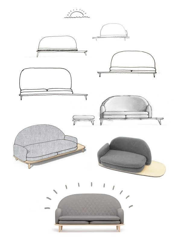 Rise Sofa by Note Design Studio for Fogia in home furnishings  Category