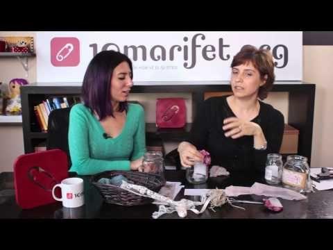Kavanoz süsleme nasıl yapılır? - 10marifet - YouTube
