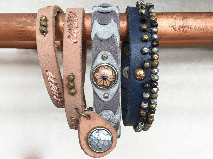 Our Wabi Sabi bracelets! #noosaamsterdam #wabisabi #fairtrade #handmade #jewelry #bracelet
