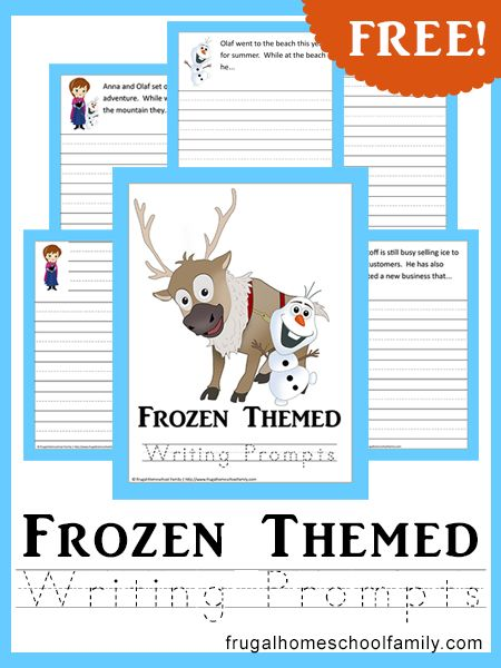 Make creative writing fun with these Frozen-themed Writing Prompts. Your Frozen fans will love this FREE 34-page pack that consists of fun writing prompts to get their creative minds going, ample writing space, and their favorite Frozen-themed characters to help them along the way! To get your Frozen-themed Writing Prompts pack, simply enter your …