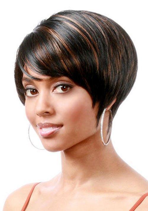 Resultado de imagen de black layered bob hairstyles