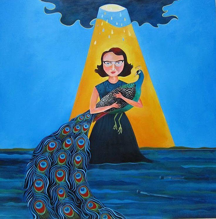Flannery O'Connor ve tavus kuşları