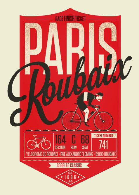 Spring Classic Cycling Prints