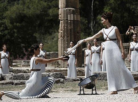 Επιβλητική η Τελετή Αφής της Ολυμπιακής Φλόγας - ΒΙΝΤΕΟ