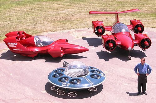 Drone Design Concepts : Skycar M-400 by Moller Worldwide: flying automobile prototype …