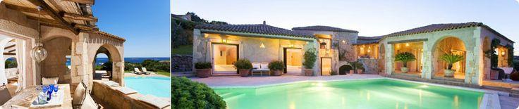 le più incredibili ville di lusso in Sardegna!