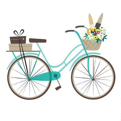 illustrationOnLine | Image Detail More, bike, cycle, simple, design, graphic, texture, bicycle, illustration
