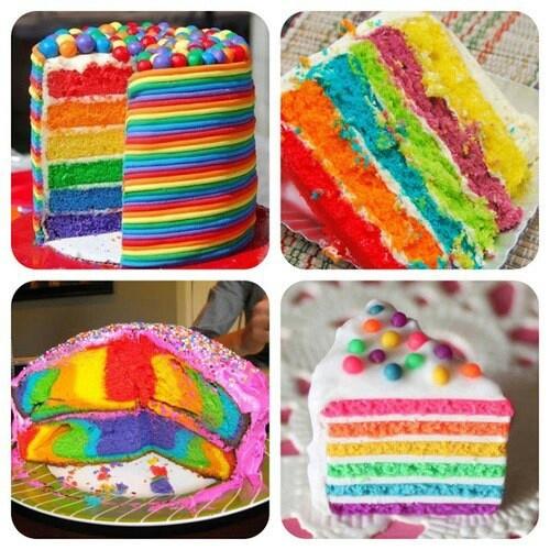 Quaglio rainbow rainbow cakes cakes in colour tianna cake cake d 225