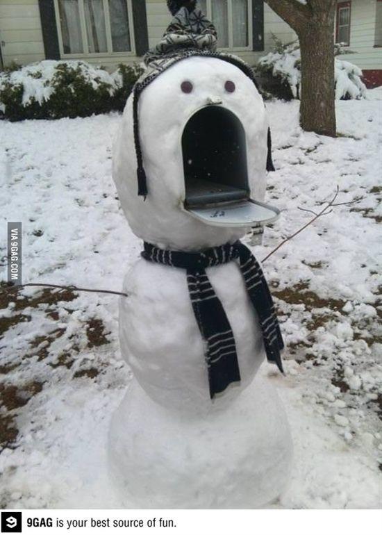 haha für den Winter! Ein bisschen Spaß muss sein