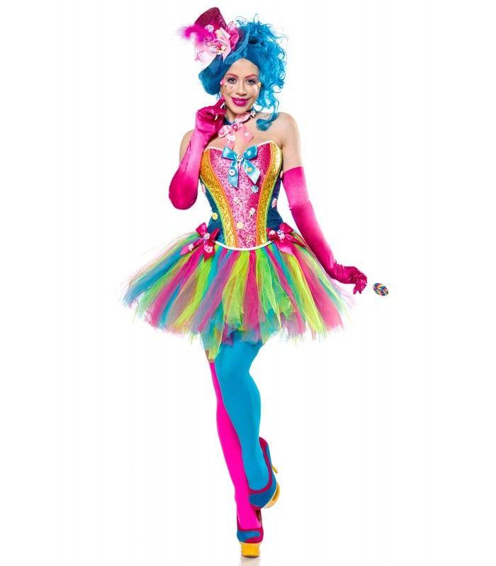 clown kostüm damen günstig