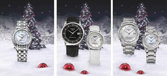 BO ZE SZWAJCARII Kolekcja świąteczna Tissot. Renomowane i precyzyjne, bo produkowane w Szwajcarii.  Na prezent albo dla siebie. Elegancja  – Francja. A nieprawda, bo Szwajcaria!