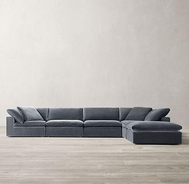 Cloud Modular Sofa Chaise Sectional In 2020 Modular Sofa Modern