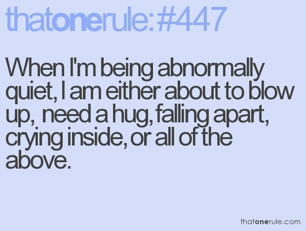 So true: I Just Need A Hugs, My Life, Truths, So True, Things, In Quiet, Totally Me, No One Understands Quotes, Incr True