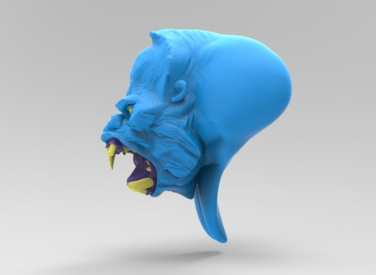 ArtStation - Blue Gorilla, Albert Novikov