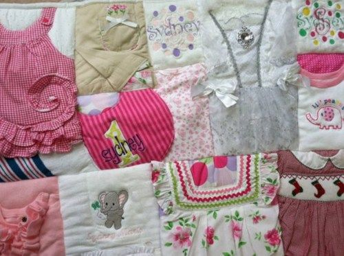 Pattern For Baby Clothes Quilt
