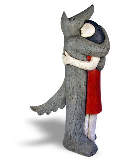 Ceramics by Paul Smith at Studiopottery.co.uk - 2013. Blind Love