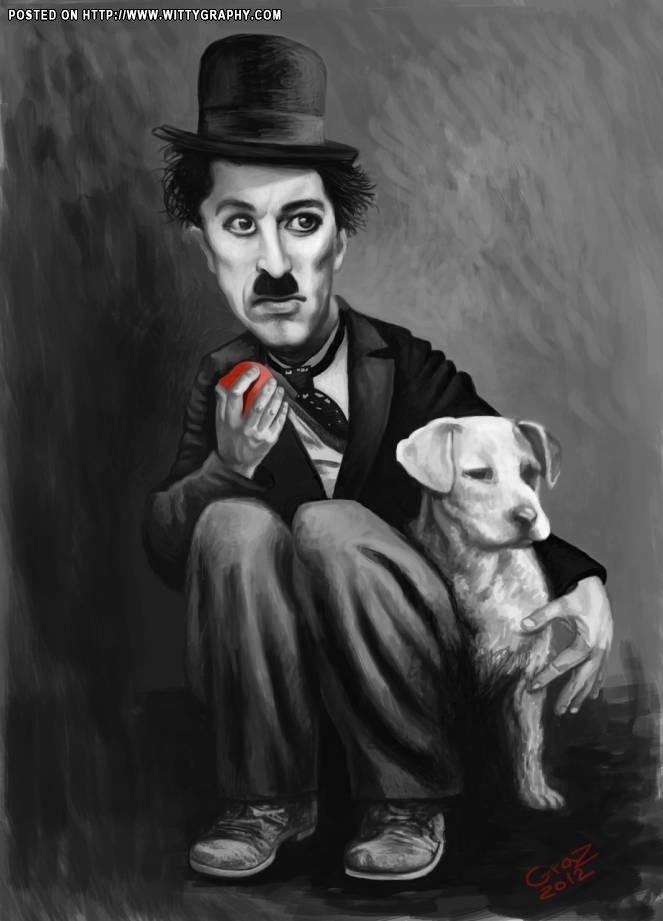 Charlie Chaplin: Art Caricatures, Caricatures Art, Caricatures ͡ ̯͡, Bestfriend Dog S Pic S, Celebrity Caricatures, Art Deco Caricatures, Charlie Chaplin, Cartoons