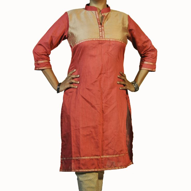 # AbhiSar # Diva Collection # Cotton Silk Kurti