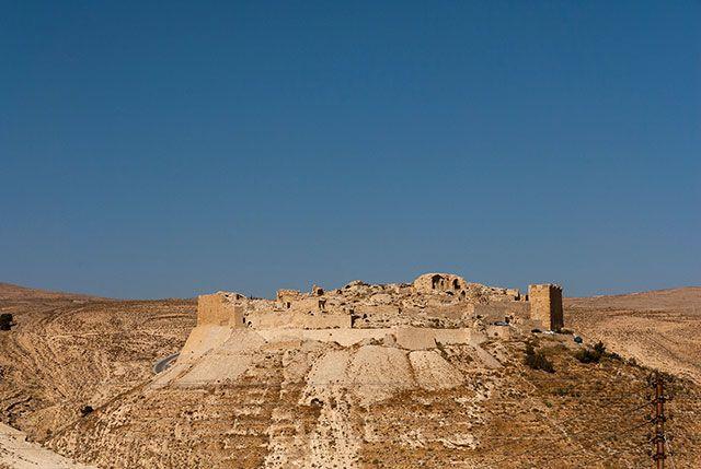 The crusader castle of Shobak, Jordan