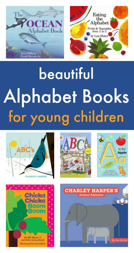 Beautiful alphabet books for children - abc books with great illustrations, alphabet books with flaps, great ABC rhymes books to read aloud.