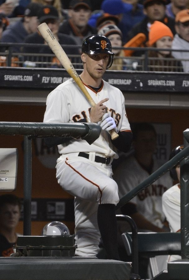 Welcome to the Giants Hunter Pence!!