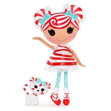 She'd look sew festive under the tree! Lalaloopsy Doll - Mint E Stripes