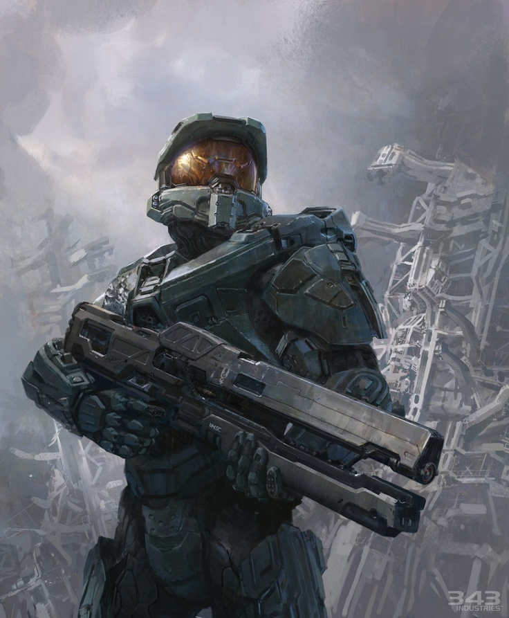 HALO: Master Chief John 117, may you live forever.