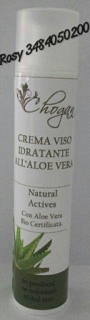 Peccati di Bellezza: CHOGAN Linea Aloe Vera: CREMA VISO GIORNO ALL'ALOE...