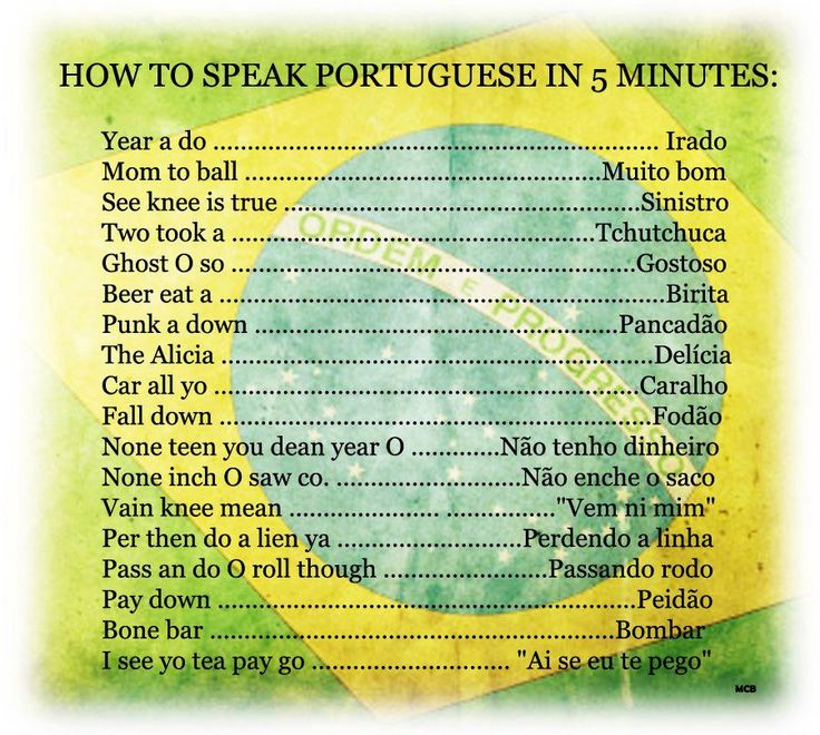 37 best brazilian portuguese images on pinterest learn brazilian to help the gringos with the language p m4hsunfo