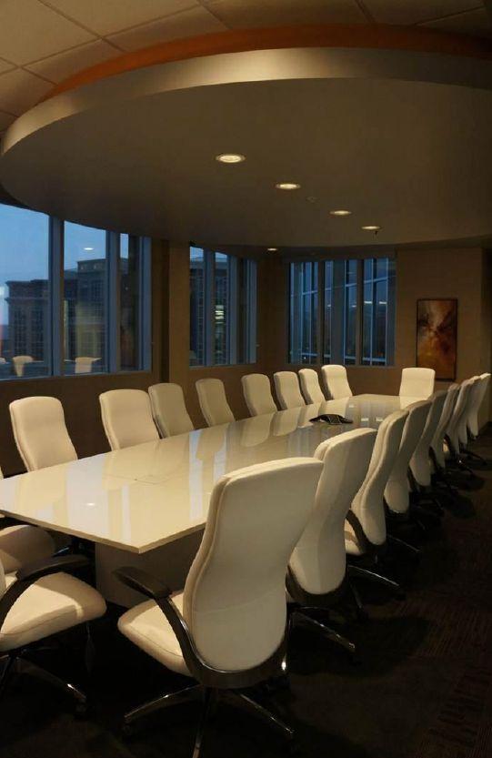 AtTask (Lehi, UT)  Aurora task/work seating in conference room. #NationalOffice #FurnitureWithPersonality